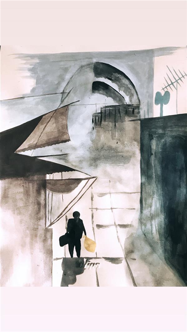 هنر نقاشی و گرافیک محفل نقاشی و گرافیک شیما ایروانی نقاشی ابرنگ بازار