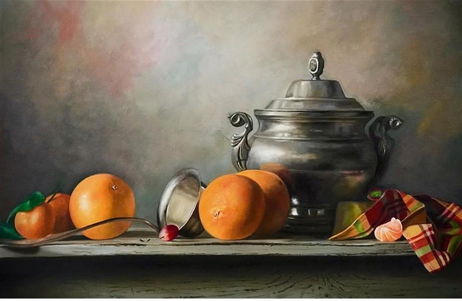 هنر نقاشی و گرافیک محفل نقاشی و گرافیک فاطمه محسنی رنگ روغن روی بوم  فاطمه محسنی