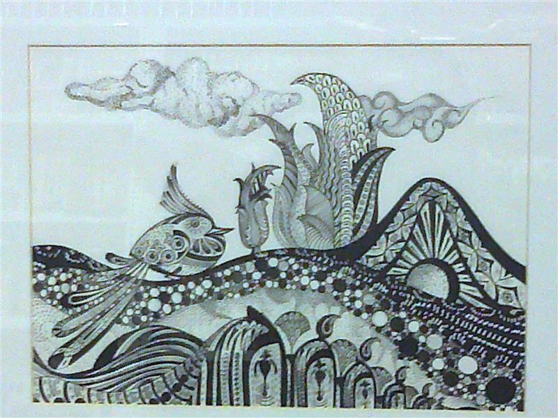 هنر نقاشی و گرافیک محفل نقاشی و گرافیک سید حسن فاطمی نیا تصویر سازی با بافت