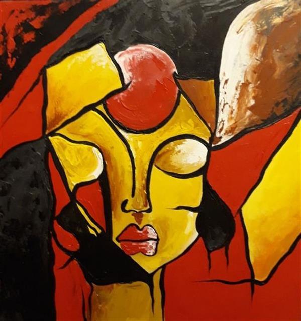 هنر نقاشی و گرافیک محفل نقاشی و گرافیک Azar42 فروخته شده است    .  نقاشی #دکوراتیو. زمینه کار #سرامیک.