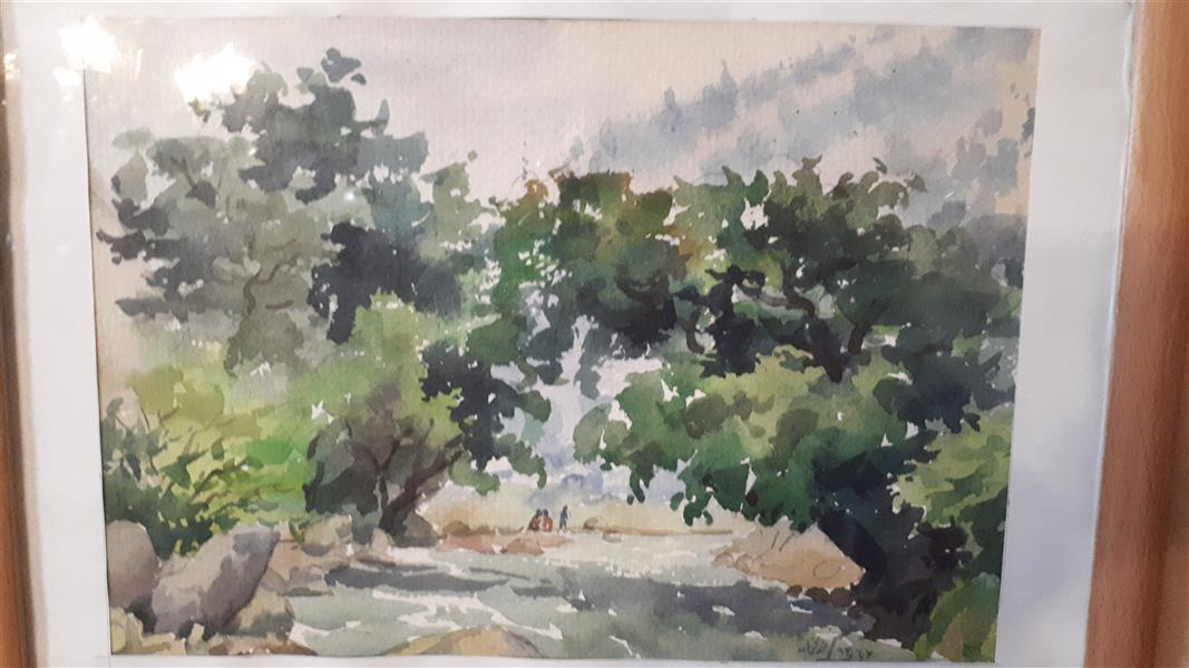 هنر نقاشی و گرافیک محفل نقاشی و گرافیک حسن رزمخواه طبیعت کردستان