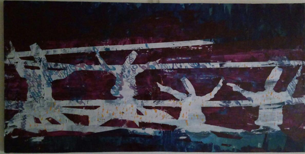 هنر نقاشی و گرافیک محفل نقاشی و گرافیک سهیل اسکندری مستان 100×50 مستان#مولانا