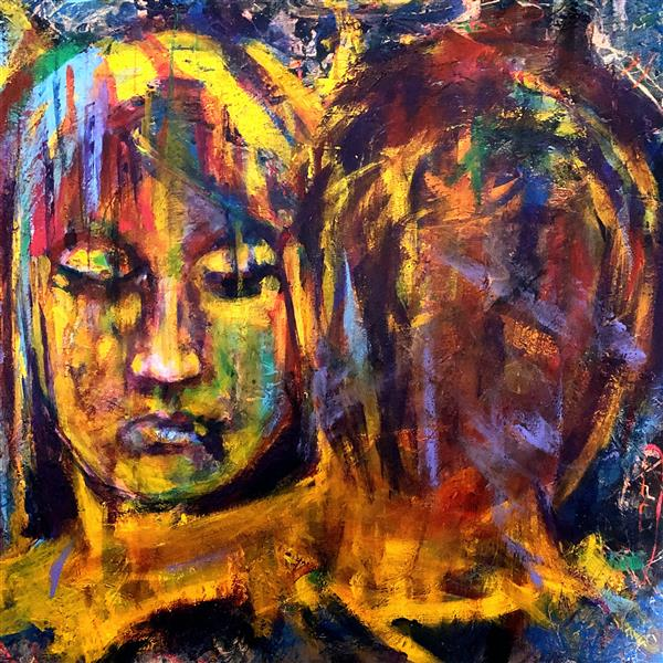 هنر نقاشی و گرافیک محفل نقاشی و گرافیک الهام سادات فرزان مهر نام:سودا تکنیک:اکریلیک سایز:۵۰.۵۰ #elham_sadat_farzanmehr #hjl #avantgarde  #dream #colors  #surealism #expersionism #canves