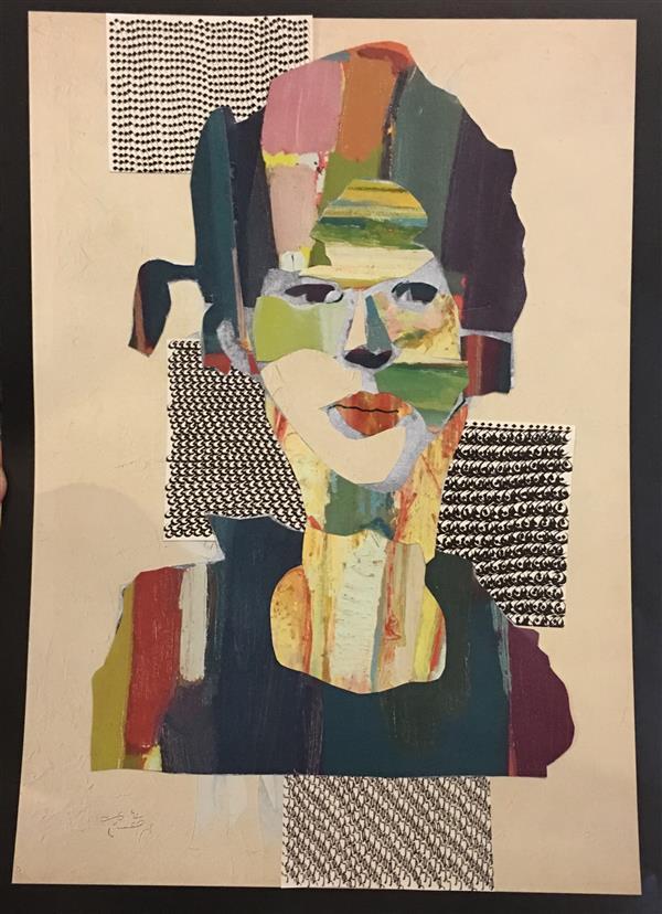 هنر نقاشی و گرافیک محفل نقاشی و گرافیک پگاه ناصری کولاژ سایز A4