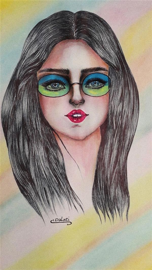 هنر نقاشی و گرافیک محفل نقاشی و گرافیک سمانه دولتی شادمانی و رنگها  هنرمند نقاش : سمانه دولتی   Artist  : samaneh Dolati  ID Telegram : @sdolati2