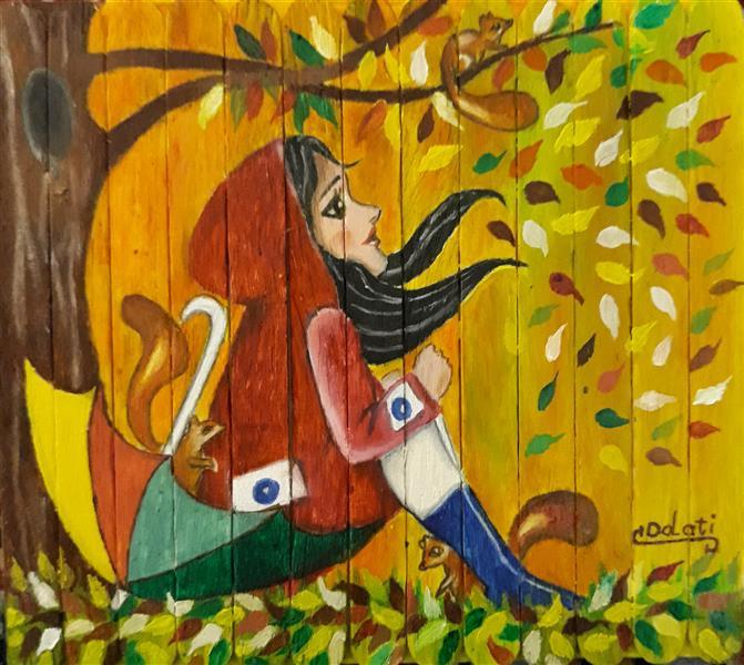 هنر نقاشی و گرافیک محفل نقاشی و گرافیک سمانه دولتی تصویر سازی : فصل پاییز هنرمند : سمانه دولتی  Artist: samaneh Dolati  ID Telegram: @sdolati2