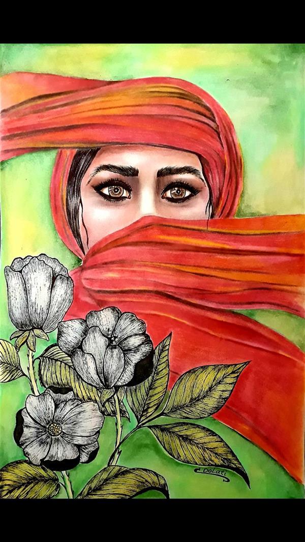 هنر نقاشی و گرافیک محفل نقاشی و گرافیک سمانه دولتی زن هنرمند نقاش : سمانه دولتی Artist  : samaneh Dolati