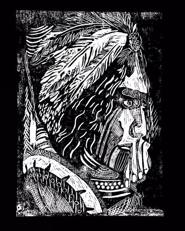 هنر نقاشی و گرافیک محفل نقاشی و گرافیک کمند محمدی نام اثر: انتظار  چاپ اکرلیک #کمند_محمدی ابعاد 30 در 40