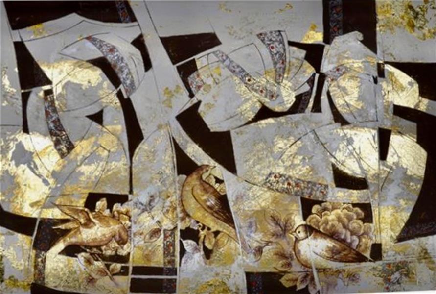 هنر نقاشی و گرافیک محفل نقاشی و گرافیک پروین حسین زاده تبریزى اکرلیک . میکس مدیا . انتزاعى . ١٢٠&٨٠