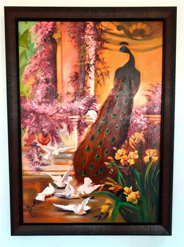 هنر نقاشی و گرافیک محفل نقاشی و گرافیک Mahdieh سبک رئالیسم ، تکنیک رنگ روغن، ابعاد ۱۰۰ × ۷۰ (در صورت تمایل به سفارش: مبلغ ۷۰۰ هزارتومان و ارسالی)  #رئالیسم #رنگ_روغن #تابلو #تابلو_رنگ_روغن #تابلو_نقاشی