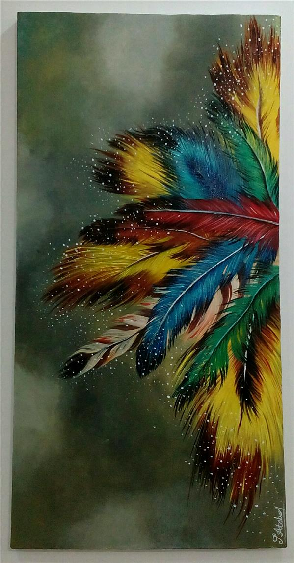 هنر نقاشی و گرافیک محفل نقاشی و گرافیک سوزان آتابای سایز35×70 #تابلو اکریلیک #تابلو_مدرن#تابلو_نقاشی#تابلو#دکوراسیون_داخلی#دکوراسیون_منزل#کادویی#هدیه#