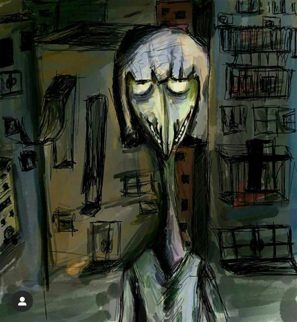 هنر نقاشی و گرافیک محفل نقاشی و گرافیک شیرین ارغشی نام اثر: مارگو  مارگو یک داستان کوتاه جدا در خود دارد که فقط مهیج ترین قسمت آن به تصویر کشیده شده است. ابعاد: ۲۰×۲۰