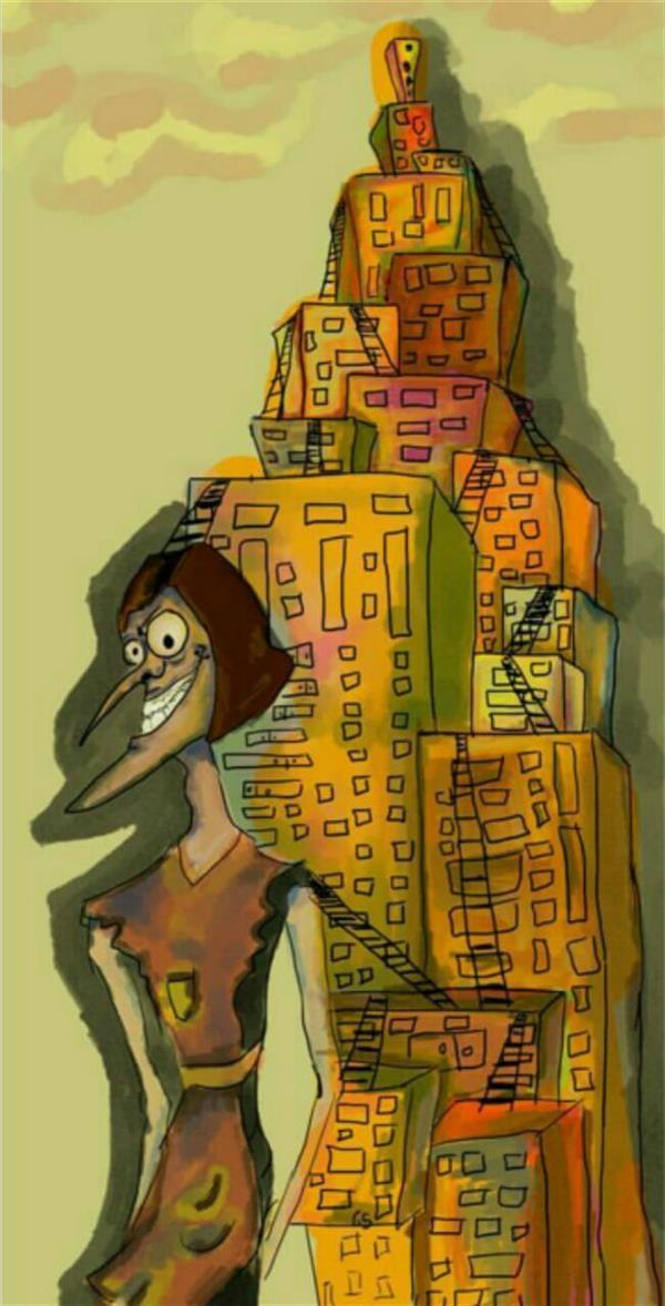 هنر نقاشی و گرافیک محفل نقاشی و گرافیک شیرین ارغشی نام اثر: کُری  ابعاد: ۴۰×۲۰  Tv paint