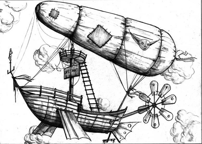 هنر نقاشی و گرافیک محفل نقاشی و گرافیک ایلتای سید نام اثر: « دیگه تقریبا نزدیک شدیم» ابعاد:۴۱*۳۰ مواد:مداد روی مقوا  #ایلتای_سید