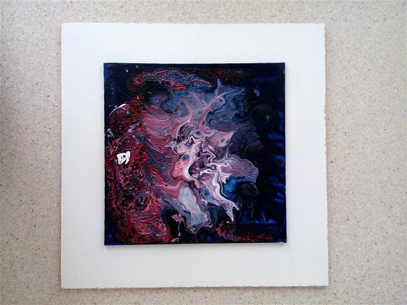 هنر نقاشی و گرافیک محفل نقاشی و گرافیک فریدون زرگری نام اثر:از سه گانه سیاه چاله