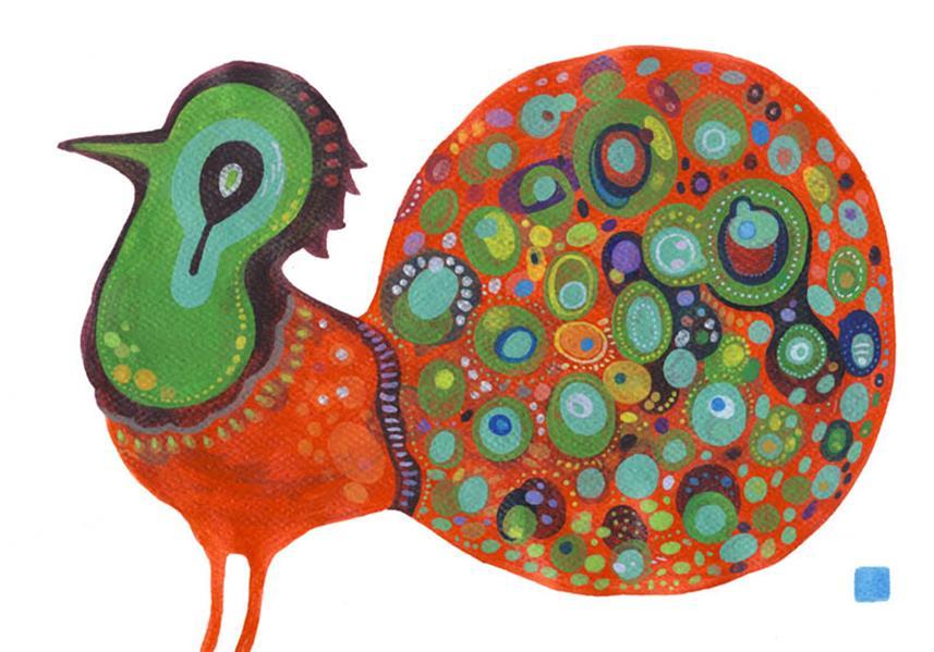 هنر نقاشی و گرافیک محفل نقاشی و گرافیک سید رسول میردامادی سایز A4   آکرلیک روی مقوا