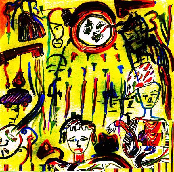 هنر نقاشی و گرافیک محفل نقاشی و گرافیک delaram ardalan عنوان اثر : ارتباط