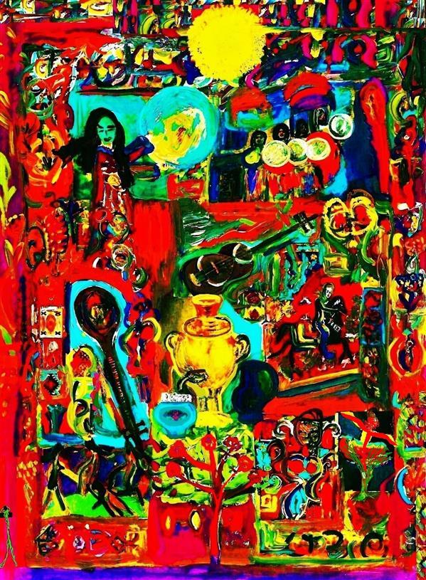 هنر نقاشی و گرافیک محفل نقاشی و گرافیک delaram ardalan عنوان اثر : صبح به خیر