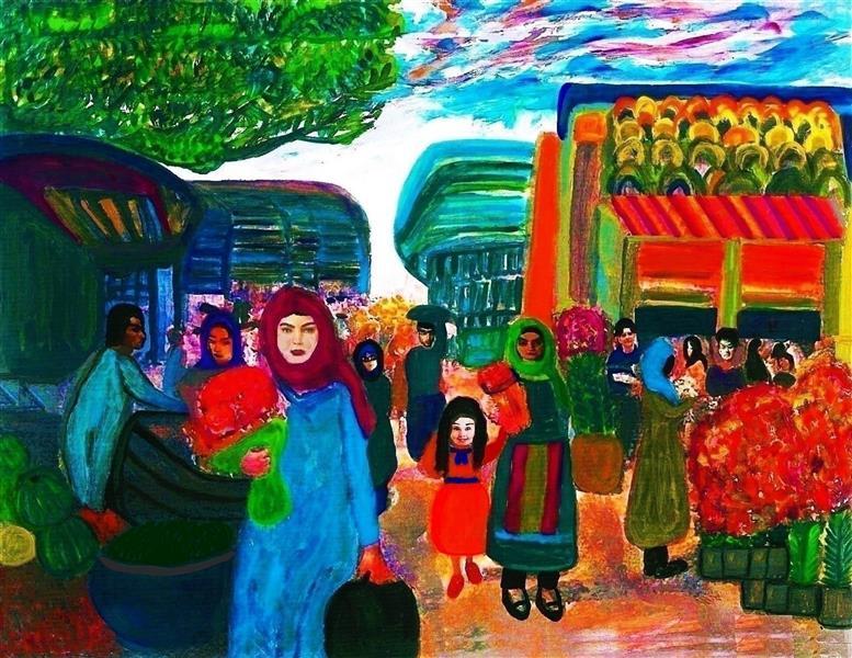 هنر نقاشی و گرافیک محفل نقاشی و گرافیک delaram ardalan بدون عنوان