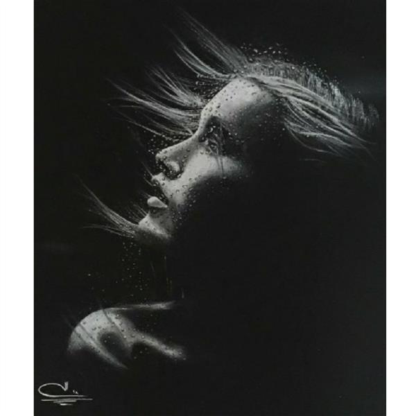 هنر نقاشی و گرافیک محفل نقاشی و گرافیک Elnaz gholizade نام اثر : رویای خیس تکنیک : کنته ابعاد : 50*35 #غرق#در#رویا#رویای#دریا#رویای#خیس#مداد#کنته