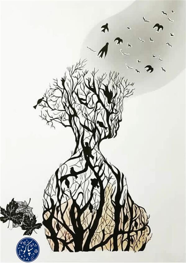 هنر نقاشی و گرافیک محفل نقاشی و گرافیک نعیمه مرادی نام اثر: پاییز تنهایی نام هنرمند: نعیمه مرادی ابعاد: 50 *70 سانتی متر تکنیک: راپید روی کانسن