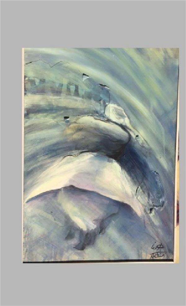 هنر نقاشی و گرافیک محفل نقاشی و گرافیک هاله رهنما تکنیک: ترکیب اکریلیک و رنگ روغن ابعاد: 120.80