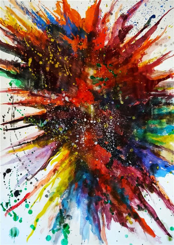 هنر نقاشی و گرافیک محفل نقاشی و گرافیک حنانه  آبرنگ و گواش #طبیعت #گواش #آبرنگ #نقاشی #حنانه اکسپرسیونیسم انتزاعی ، نقاشی آبستره  #آبستره #اکسپرسیونیسم_انتزاعی #نقاشی #هنر #حنانه
