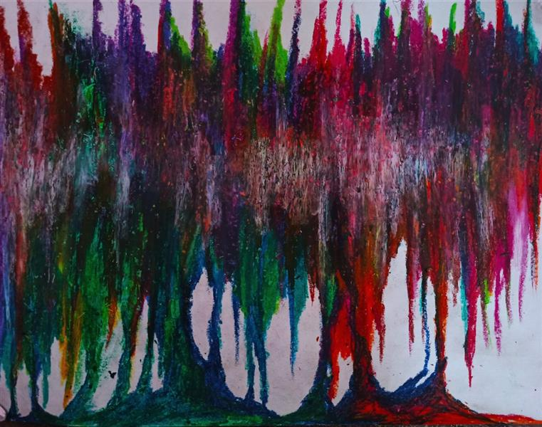 هنر نقاشی و گرافیک محفل نقاشی و گرافیک حنانه  پاستیل  اکسپرسیونیسم انتزاعی ، نقاشی آبستره  #آبستره #اکسپرسیونیسم_انتزاعی #نقاشی #هنر #حنانه