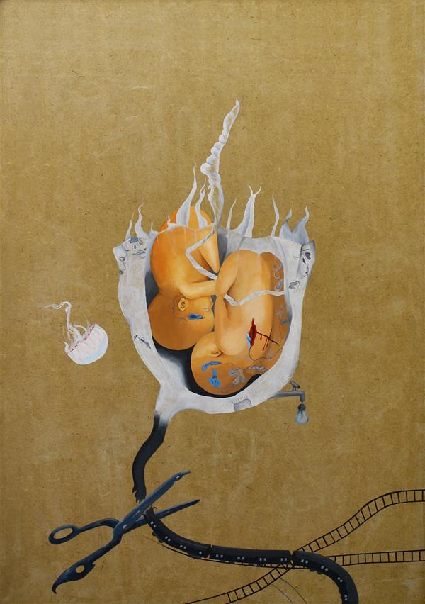 هنر نقاشی و گرافیک محفل نقاشی و گرافیک هدی حسنی تصویرسازی - اکریلیک روی شاسی آبرنگ اندازه: 50. 70 اثر ارائه شده در گالری سیحون