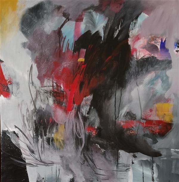 هنر نقاشی و گرافیک محفل نقاشی و گرافیک نگارخانه نگر #Acrylic on Canvas# مهین منفرد Mahin Monfared