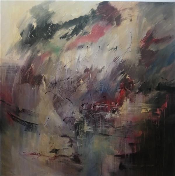 هنر نقاشی و گرافیک محفل نقاشی و گرافیک نگارخانه نگر نام هنرمند: مهین منفرد Mahin Monfared  Acrylic on Canvas