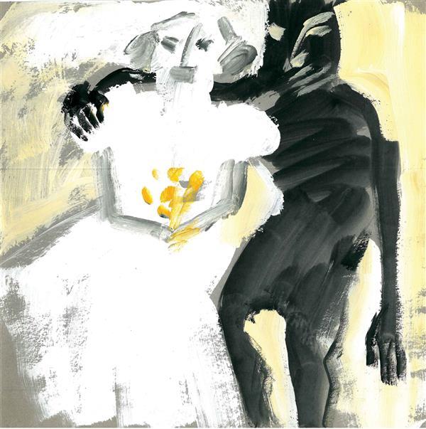 هنر نقاشی و گرافیک محفل نقاشی و گرافیک نگارخانه نگر نام هنرمند:پرواکارخانه Parva Karkhaneh Pencil on paper   A6-12