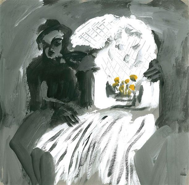هنر نقاشی و گرافیک محفل نقاشی و گرافیک نگارخانه نگر نام هنرمند:پرواکارخانه Parva_Karkhaneh Pencil on paper   A6-14