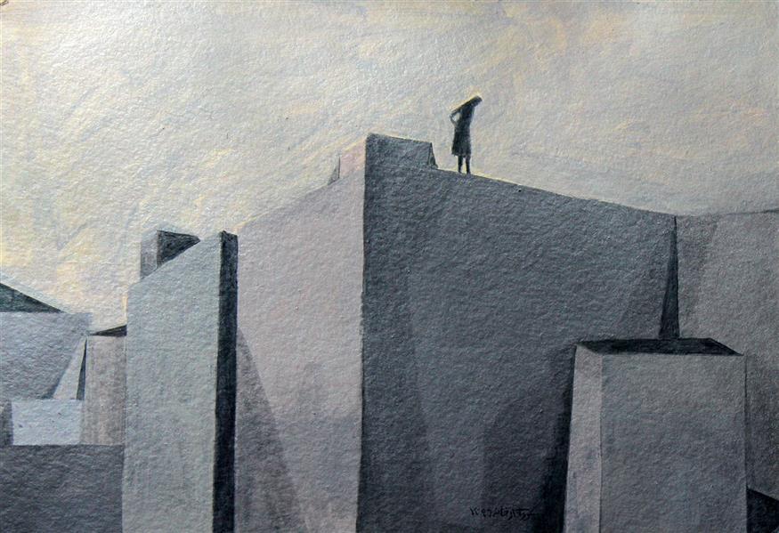 هنر نقاشی و گرافیک محفل نقاشی و گرافیک نگارخانه نگر نام هنرمند:پرواکارخانه Parva Karkhaneh Pencil on paper   A6-16