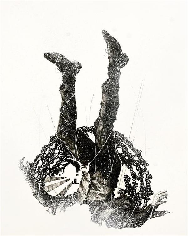 هنر نقاشی و گرافیک محفل نقاشی و گرافیک گالری والی Kavian Hazeli Painting on paper  cm 42x 30