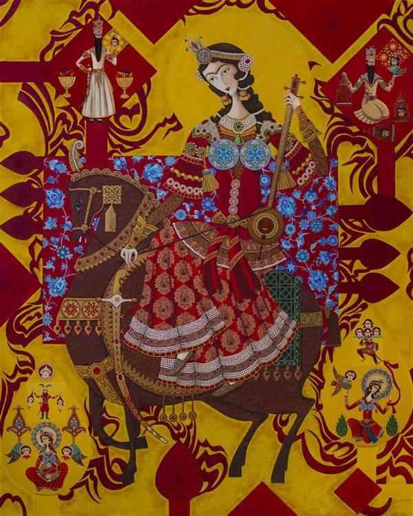 هنر نقاشی و گرافیک محفل نقاشی و گرافیک فاطمه احمدیان بدون عنوان #فروخته_شد اندازه ۱۵۰ در ۱۲۰ سانتی متر ترکیب مواد روی بوم