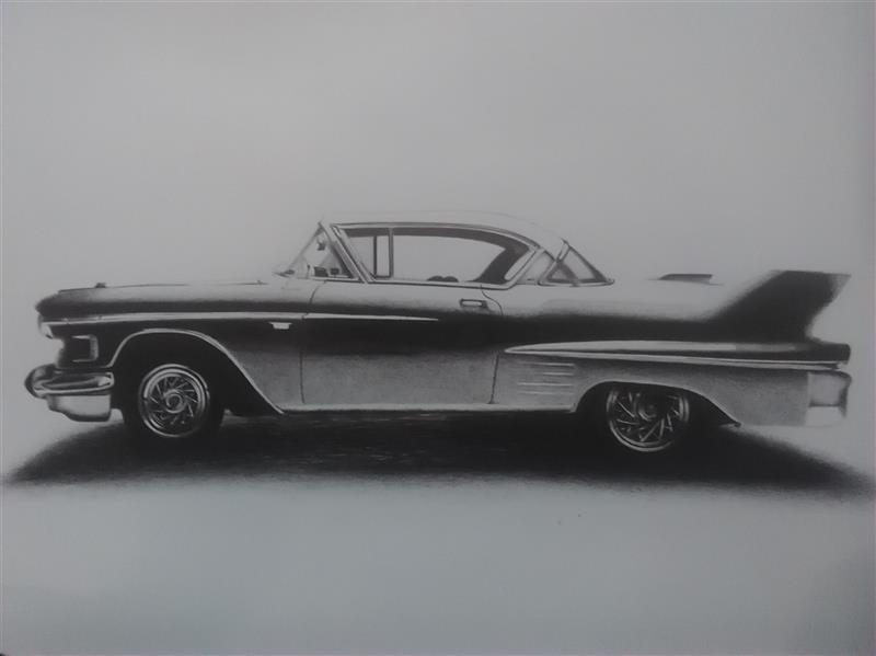 هنر نقاشی و گرافیک محفل نقاشی و گرافیک فهیمه اسدی ماشین های قدیمی با خودکار