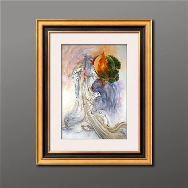 هنر نقاشی و گرافیک محفل نقاشی و گرافیک فرهاد رفیعی  اکرولیک روی مقوا... سایز 50 در 70... بدیع.. باقاب و پاسپارتو نفیس قابل ارائه میباشد