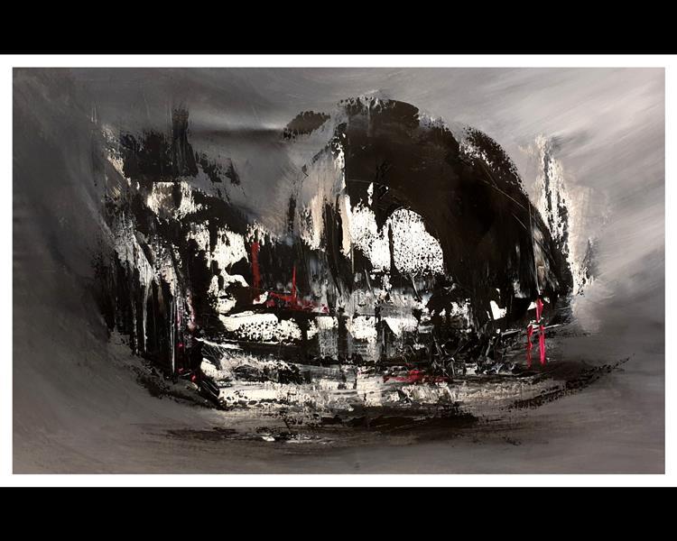 هنر نقاشی و گرافیک محفل نقاشی و گرافیک اوید بهشتی ابستره#اکرلیک