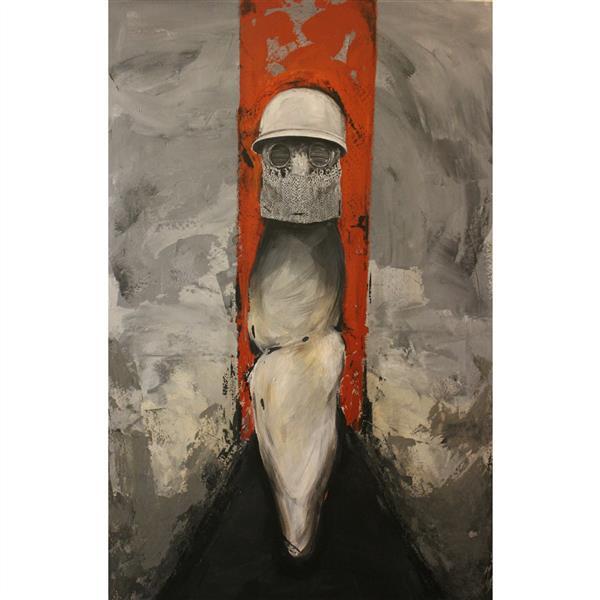 هنر نقاشی و گرافیک محفل نقاشی و گرافیک فرینو اطلسی مسخ  اکرلیک روی بوم
