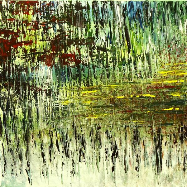 """هنر نقاشی و گرافیک محفل نقاشی و گرافیک مهسا خیراندیش  - mahsa kheirandish  عنوان : _ ابعاد : ۳۰×۳۰ تکنیک : #اکریلیک روی #بوم سبک : آبستره  سال تولید : ۱۳۹۸ به نمایش درآمده در #نمایشگاه """" سه اتفاق """" در گالری #تم  #مهسا_خیراندیش #سه_اتفاق #گالری_تم"""