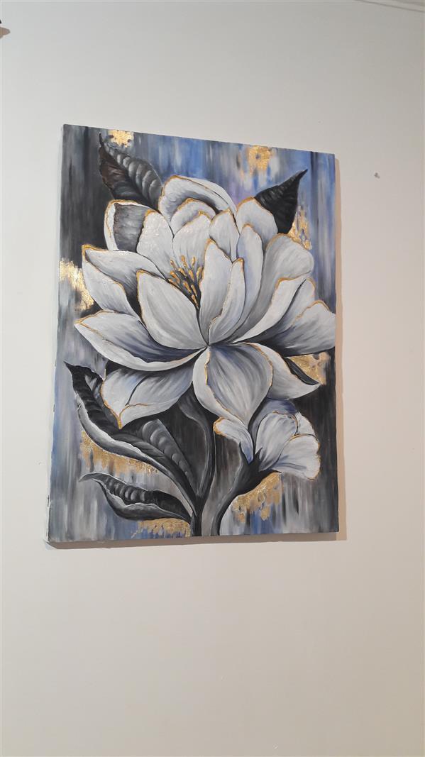 هنر نقاشی و گرافیک محفل نقاشی و گرافیک زهرا آریاپور تکنیک اکلرلیک روی بوم سایز ۵۰*۷۰