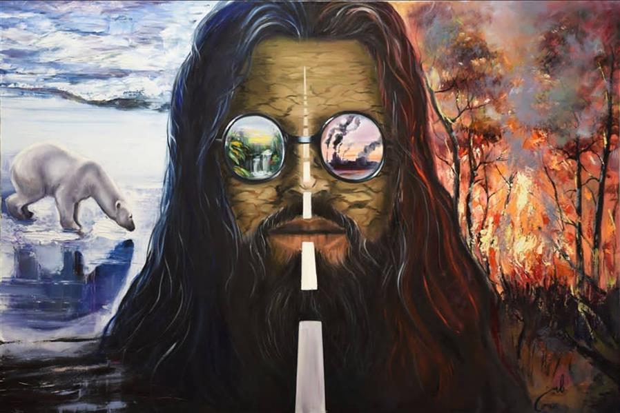 هنر نقاشی و گرافیک محفل نقاشی و گرافیک رامین یاراحمدی سایز ۱۲۰×۸۰