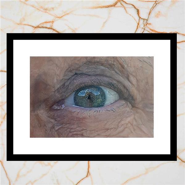هنر نقاشی و گرافیک محفل نقاشی و گرافیک رامین ارشدی #رامین_ارشدی#طراحی_چشم#رنگ_و_روغن