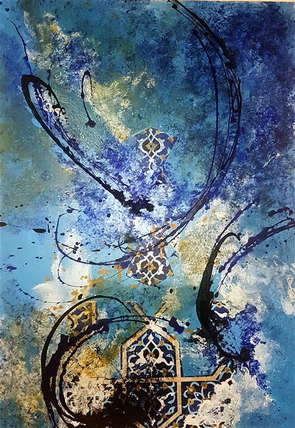 هنر نقاشی و گرافیک محفل نقاشی و گرافیک شیماهاشمی #نقاشی 100.70 ابعاد تکنیک ترکیب مواد روی بوم #انتزاعی #آبستره #دکوراتیو #فروخته_شد