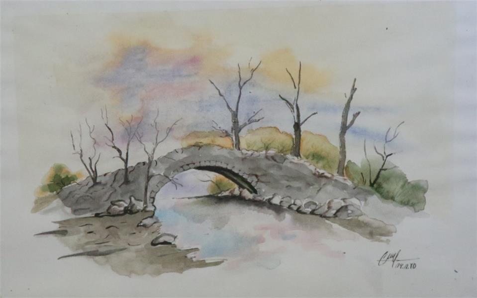 هنر نقاشی و گرافیک محفل نقاشی و گرافیک حسن زمانی آبرنگ20*30