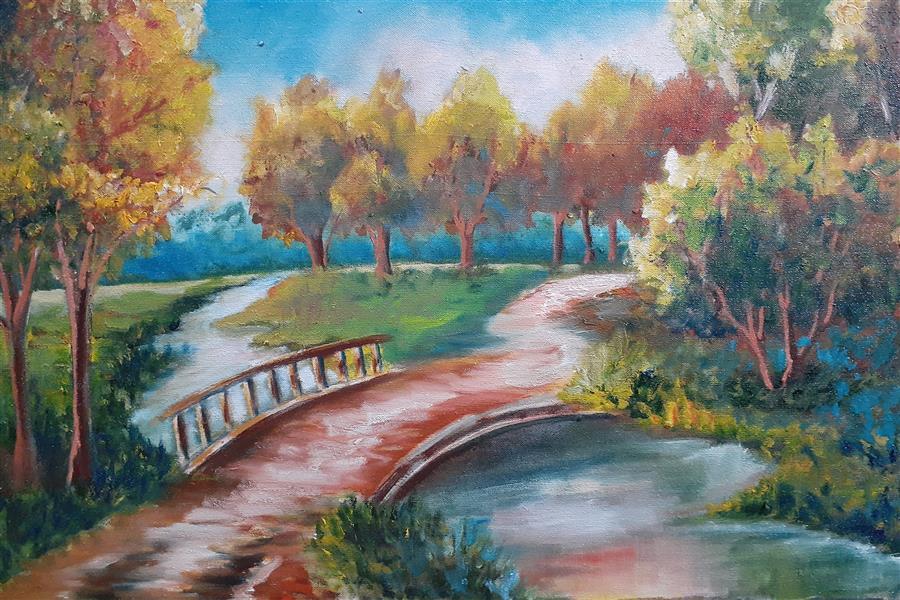 هنر نقاشی و گرافیک محفل نقاشی و گرافیک حسن زمانی ۴۰در۶۰ رنگ روغن روی بوم