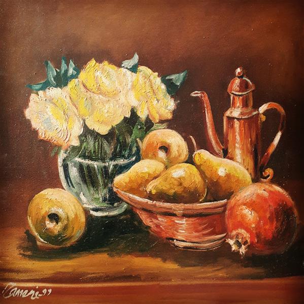 هنر نقاشی و گرافیک محفل نقاشی و گرافیک حسن زمانی رنگ روغن روی بوم