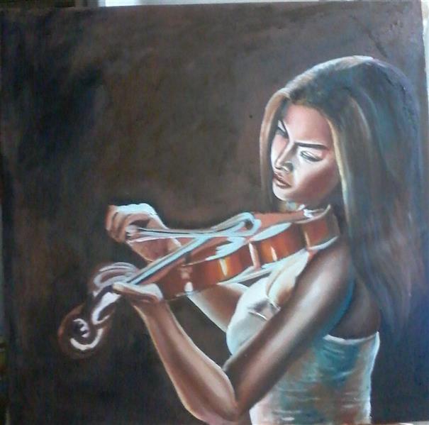 هنر نقاشی و گرافیک محفل نقاشی و گرافیک حسن زمانی 70*70 رنگ روغن