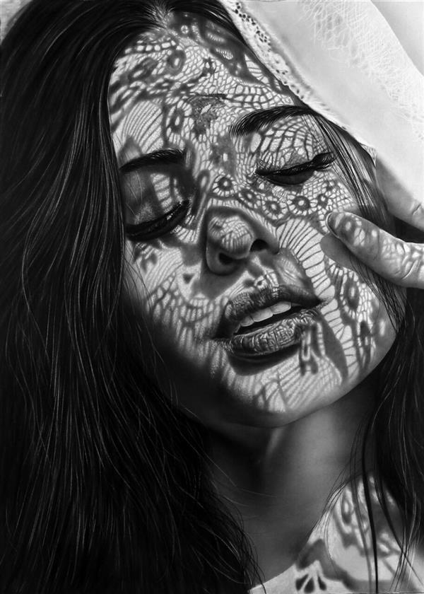 هنر نقاشی و گرافیک محفل نقاشی و گرافیک عارف امیدزاده #سیاه_قلم #عارف_امیدزاده 50*70